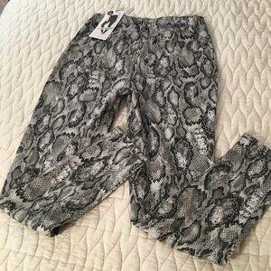 NEW Tinseltown Snake Skin Jeans